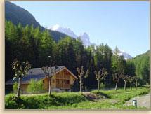 Ski Chalet Vallorcine (Click to enlarge)